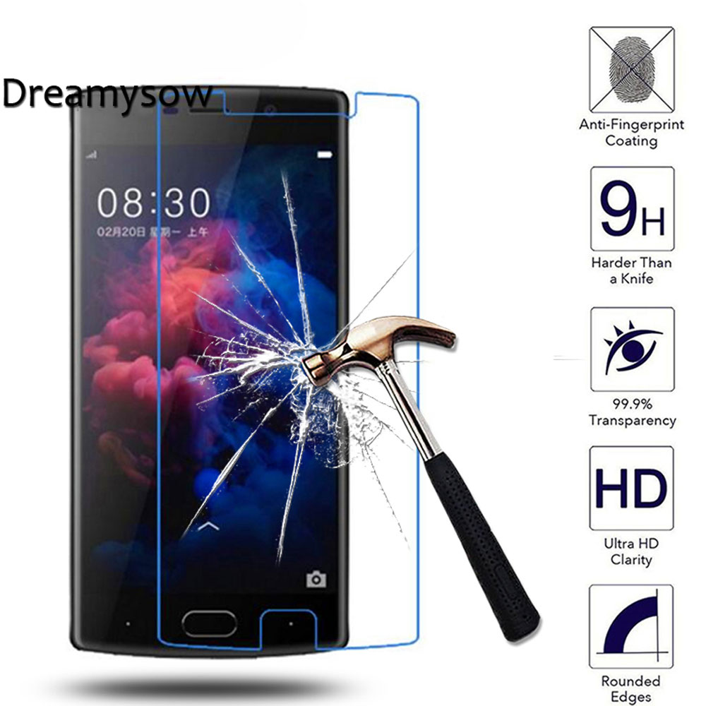 Dreamysow Doogee BL5000 Tempered Glass cover DOOGEE X5 MAX X6 Pro X9 X10 X30 X30XL X20 Shoot 1 2 Screen Protector Film