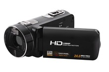 New Full HD 1080P Max 24MP 3.0 inch LCD Touch Screen Digital Camera Video Camcorder HDV90E