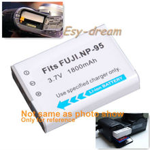 NP-95 NP95 1800mAh battery for Fujifilm FinePix F30 F31fd Real 3D W1 X-S1 X100 X100s RICOH GXR PM038