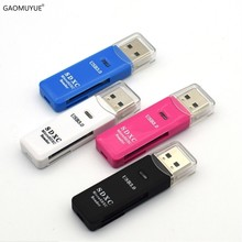 GAOMUYUE USB 3,0 card reader для microsd и tf карты; USB3.0 card reader s для SD/TF карты поддерживают Max 100 м/с DJ2(China)
