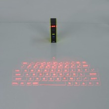 Universal USB 2.4Ghz Wireless Bluetooth Virtual Laser Keyboard Portable Size Bluetooth Projection Keyboard Laser For Smart Phone