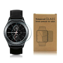 Tempered Glass Screen Protector for Samsung Gear S2/ S2 Classic 9H 2.5D Clear with Retail Package Smart Watch Glass Film