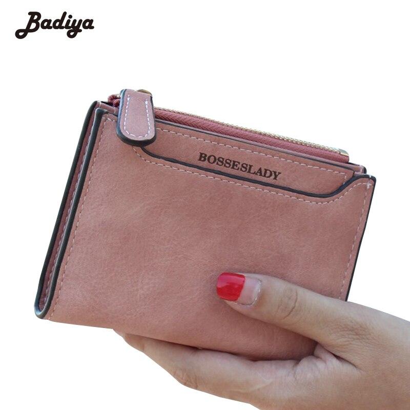 New Arrival Solid Scrub PU Leather Hasp Women Wallet Brief Design Short Wallets For Women Hasp Design Ladies Short Purse<br><br>Aliexpress