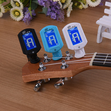 ENO ET33 LCD Guitar Tuner Mini Clip-on Guitar Chromatic Bass Violin Ukulele Tuner Wind Instrument Universal Useful Musical Part