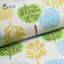 50*150cm Printed Cotton Linen Fabric For Patchwork Quilting Sewing DIY Sofa Table Cloth Furniture Cover Cushion Fabric#3446(China)