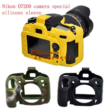 Nice Camera Video Bag For Nikon D7200 D7100 Silicone case Rubber Camera Protective Body Cover Case Skin Camera Bag