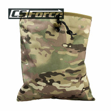 CS Force Military Tactical Gear Hunting Recovery Molle Dump Magazine Pouch Ammo Bags Airsoft Paintball Accessories Drop Pouch