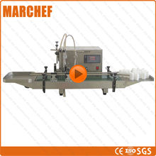 Digital Filling Machine CE ISO 2 Pumps Conveyor belt Automatic Liquid Honey Milk filler(China)