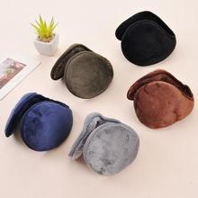 New Fashion 5 Color warm plush cloth Ear Muffs Winter Ear warmers Mens or Womens Fleece Warmer Earmuffs
