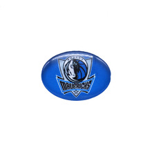 Glass Snap Button 18mmX25mm Dallas Mavericks Charms Snap Snaps Basketball Fans Gift Paty Birthday Fashion 2018(China)