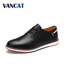 Buy 2017 Sping Autumn Men Casual Shoes Lace New Fashion Men Shoes Business High Men Flats Driving Shoes Male Footwear for $21.60 in AliExpress store
