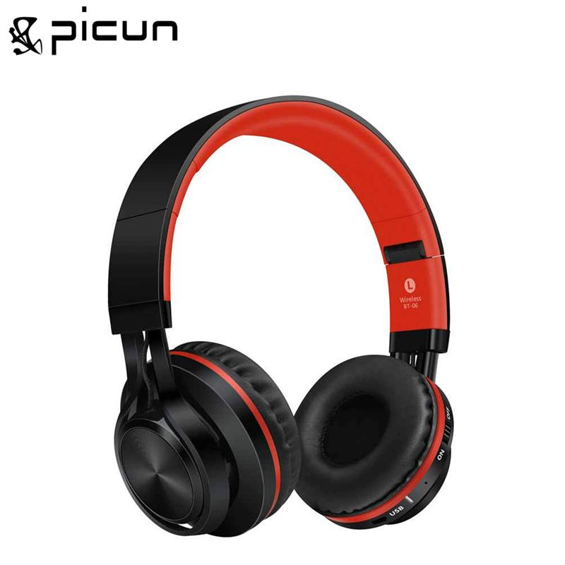Sound Intone BT-06 Foldable Wireless Bluetooth 4.0 Headphones Over-ear Stereo Headset with Build-in Microphone Music MP3 Headset<br>