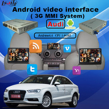 Multimedia Video Interface Car GPS Android Navigation for Audi 3GMMI A6/S6/Q7/A8/A4/A5/Q5/A1/Q3