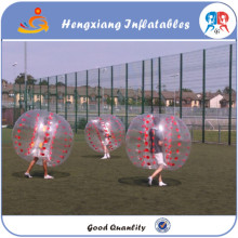 12pcs +2blower Free Shipping Free shipping TPU 1.5m diameter body zorb suits,bubble soccer,bubble football for big heavy players(China)