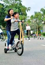 stand up health halfbike tricycle exercise bike bicycle