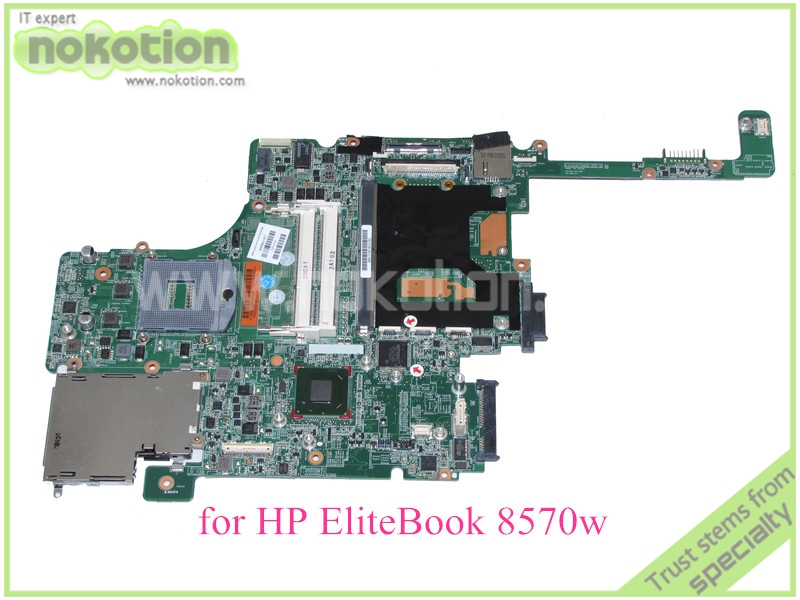 laptop motherboard for hp elitebook 8570W 690643-001 QM77 GMA HD4000 DDR3<br><br>Aliexpress