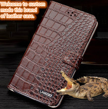 XQ13 genuine leather phone case with card slot for Samsung Galaxy A7(2016) phone case for Samsung Galaxy A7100 leather cover(China)