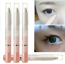 Wholesale 10PCS HOT Pearl White Eyeshadow Pencil Shimmer Face Highlighter Makeup Pen Cosmetic Eye liner Makeup