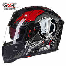 Genuine GXT summer winter motorcycle helmet full face skull scooter motorbike motor bike helmet motorcycle helmets