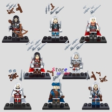 8star wars SUPER HERO KSZ316 Assassin's Creed building blocks action figure bricks friends boy games kids children toys - Aliex Building Blocks Toys store