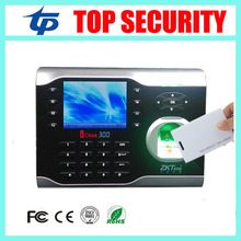 3.5inch TFT color screen web based biometric fingerprint time attendance recorder clock with 125KHZ RFID EM card reader system(China)