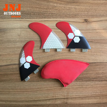 newest high quality surfboard FCS fins G5 surf fins (Tri-set) Fiberglass hongey bomb(China)