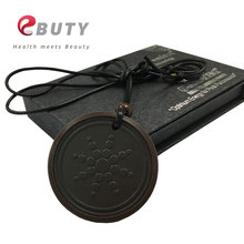 EBUTY Scalar Energy Pendant with 3000cc Ions Energy Rubber Quantum Science Energy Charms Pendants Health Gift Necklace