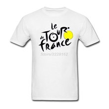 Slim Big Yards t-shirt Company man French bicycle race Tee with Le Tour de France men Printed T-Shirt Factory Sale