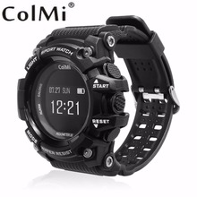 Buy ColMi Smart Sport Watch T1 OLED Display Heart Rate Monitor IP68 Waterproof Push Message Call Reminder Android IOS Phone for $32.99 in AliExpress store