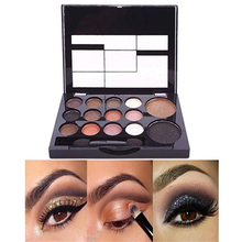 2016 14 Colors Makeup Shimmer Eyeshadow Palette Cosmetic Neutral Nude Warm Eye Shadow  6ZI6 7GRU