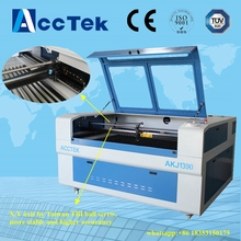 1300*900mm high accurancy photos engraving machine , double color plastic laser cut and engrave machine