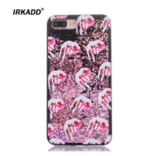 Buy IRKADD Quicksand Bling Case iPhone 6 6s Cream Lips Diamond Liquid Glitter Plastic+TPU Soft Edge Back Cover iPhone 6s for $2.95 in AliExpress store
