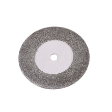 10pcs Grinding circles 25mm Diamond Cutting Discs Electric Dremel Grinder tool Rotary Blades Cutting Wheel Slice with 2 Mandrels