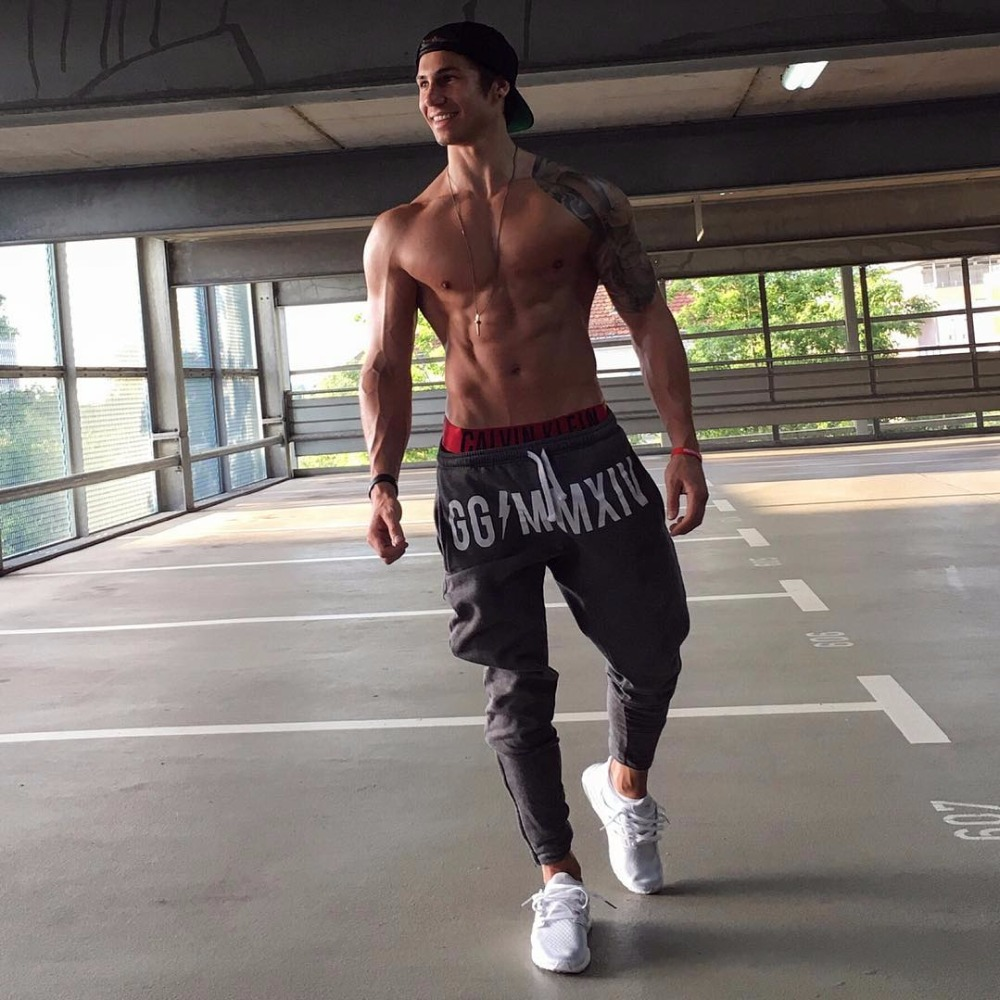 Brand Gyms Men Joggers Casual Men Sweatpants Joggers Pantalon Homme Trousers Sporting Clothing Bodybuilding Pants 15