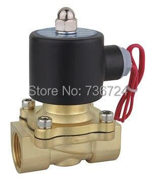 3/4 direct acting solenoid valve  DC12V DV24V AC24V AC110V AC220V AC380V brass valve<br>