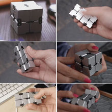 Super fun Infinity Cube spinner Fidget cube High Quality Anti stress mano magic Kid Finger Toy Game Adult EDC for ADHD Gift Hand