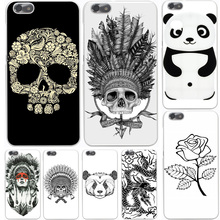 New Top Indian Head Skull Hard Case Cover for Huawei P10 P9 P8 Lite Plus P7 6 G7 & Honor 8 Lite 4C 4X 7