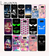 Lavaza 11O Do Not Touch My Phone Hard Case for Samsung Galaxy S6 S7 Edge S8 Plus S2 S3 S4 S5 Mini Cover(China)