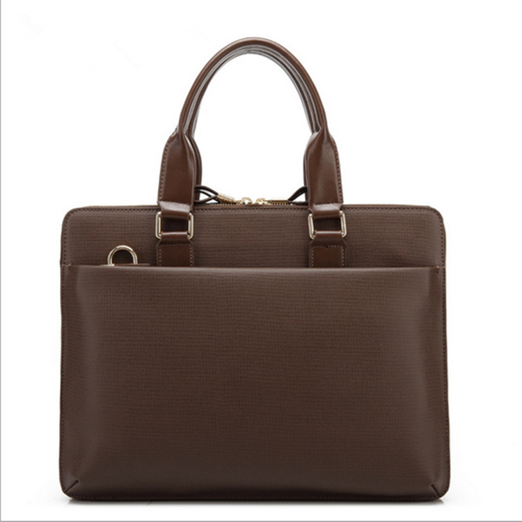 FREE shipping top quality genuine leather briefcase tote laptop bag lawyer handbag business bag<br><br>Aliexpress