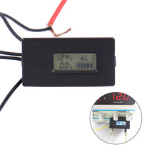 DC 2.8-26V Digital LCD Lithium Battery Tester Voltage Detector Battery Level Load Current Resistance Monitor