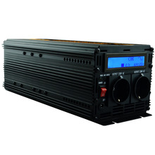 LCD display UPS inverter pure sine wave 2500W 5000W(peak)12v to 220v Inverter+Charger & UPS,Quiet and Fast Charge power supply