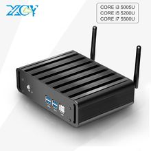 Core i7 5500u i5 5200u i3 5005u 6100u Mini PC free shiping  USB3.0 WIFI Mini Computer Desktop HTPC TV BOX