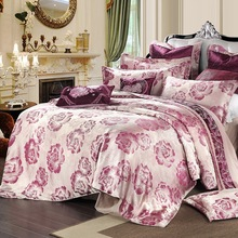 New Palace Luxy Style Bedding Set 4 Pieces High Quality Tributed Fabric Bedding Cover Home Decoration(China)