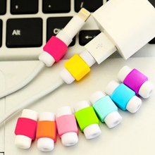 USB Cable Protector Colorful Cover Case For Iphone 5 5S 5C 6 Plus 6S SE Charger Data Cable Earphone Accessories W0G49 P5