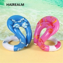 0.34mm Thick Inflatable Swim Arm Rings Pool Toys Baby Float Circle Kids Adults Life Vest Children Adult water toy Swimming Laps(China)