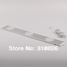 White LED Rigid Strip Sensor Light Distance IR Switch Aluminum SMD For Furniture Decorative Display Show Case .