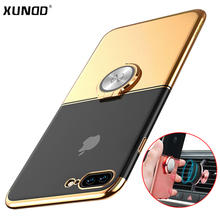 Buy iphone 8 plus 7 plus case Xundd Luxury Transparent Clear PC back case cover iphone 7 8 capa fit magnetic car holder for $9.56 in AliExpress store