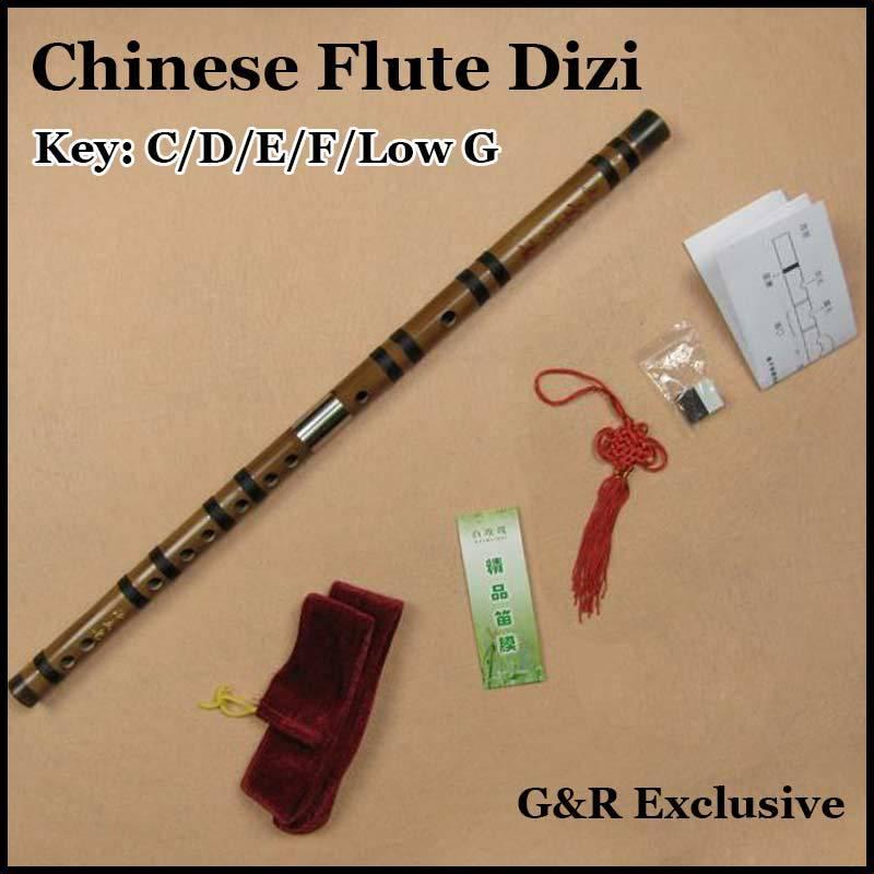 Chinese Bamboo Flute Dizi Traditional Handmade Flauta Transverse for Beginner Musical Instrument Woodwind C/D/E/F/G Key Gift<br><br>Aliexpress