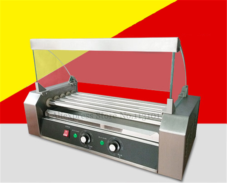 The Special Glass Hood Covers for Rollers Hot Dog Grill Machines-in Rotisseries from Home Appliances
