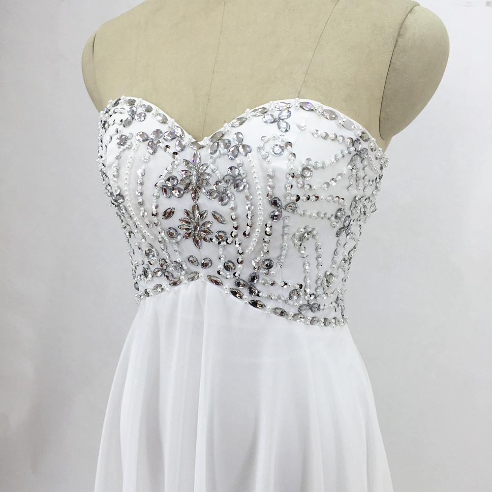 Sexy Chiffon A Line Beach Wedding Dresses Vintage Boho Cheap Bridal Gowns Vestidos De Novia Robe De Mariage Bridal Gown in stock 2